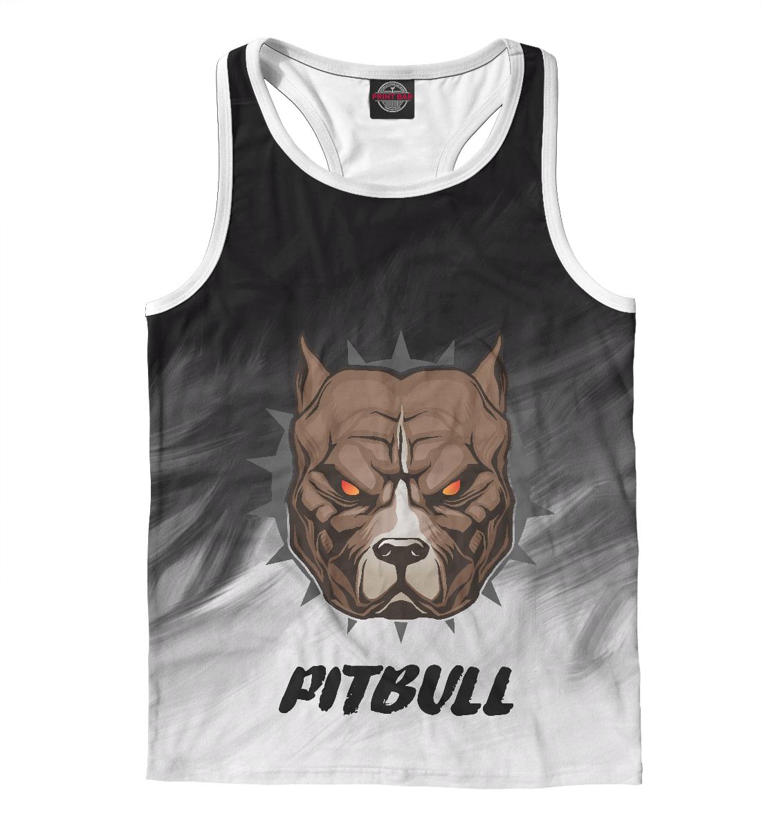 Купить Pitbull, Printbar, Майки борцовки, DOG-144963-mayb-2