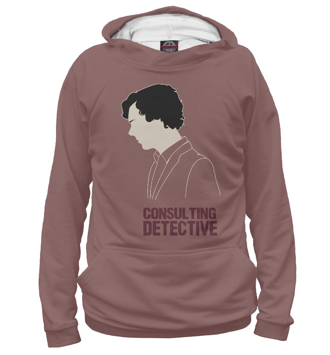 Купить Consulting Detective, Printbar, Худи, SHE-407849-hud-1