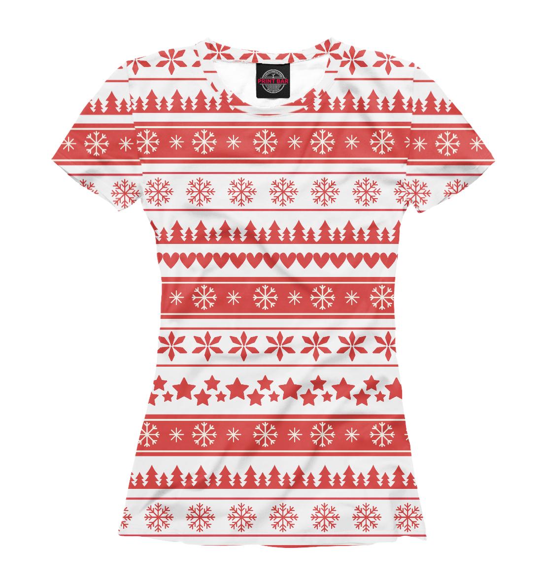 Купить Новогодний свитер, Printbar, Футболки, NOV-877380-fut-1