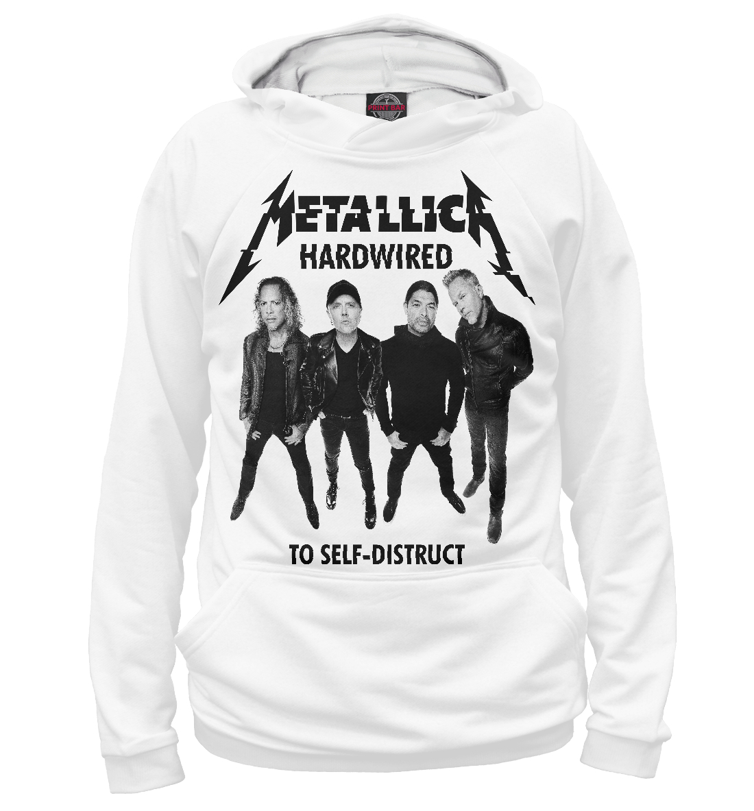 Купить Metallica, Printbar, Худи, MET-400259-hud-2