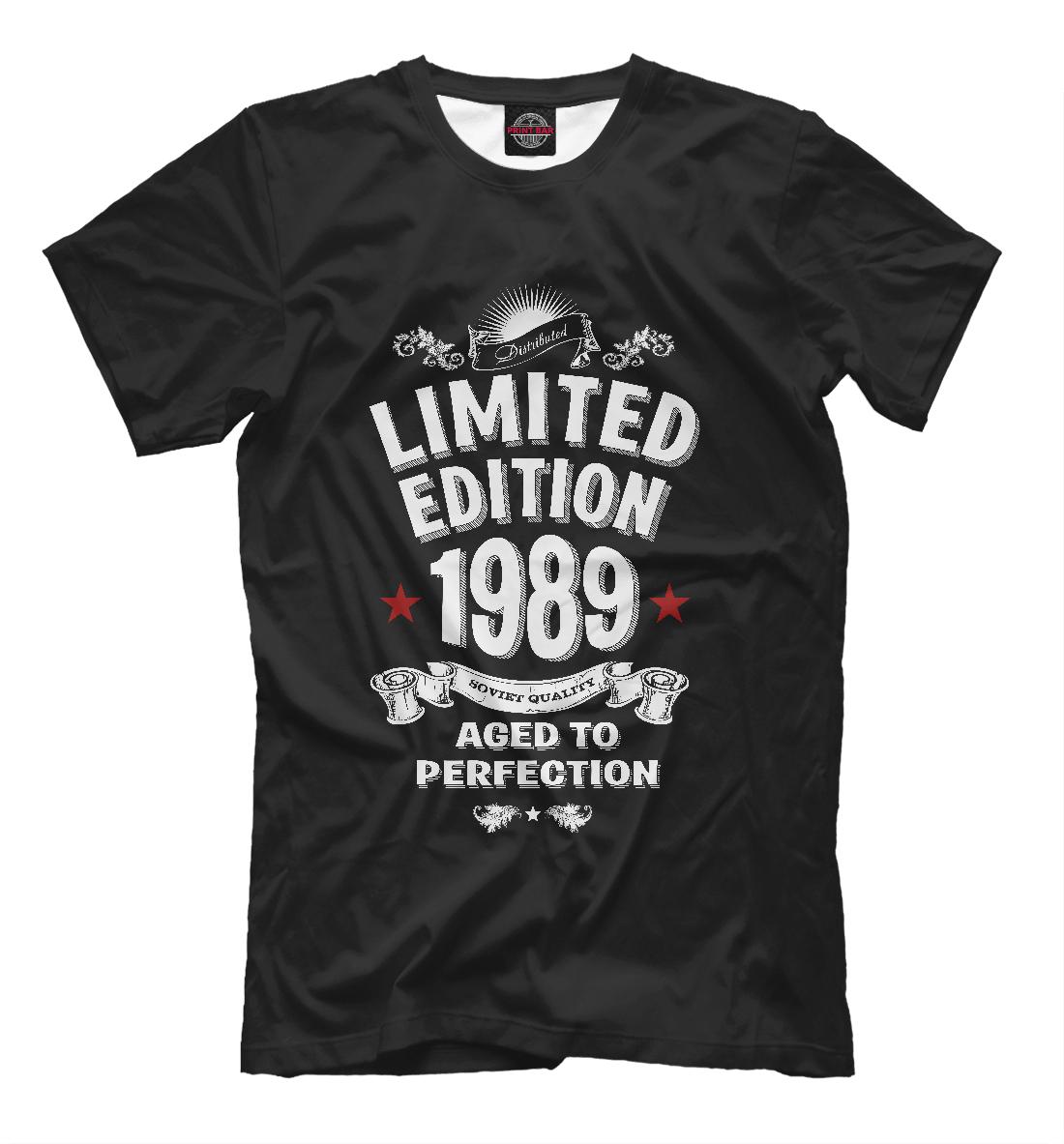 Купить Ограниченная серия 1989, Printbar, Футболки, DVA-131789-fut-2