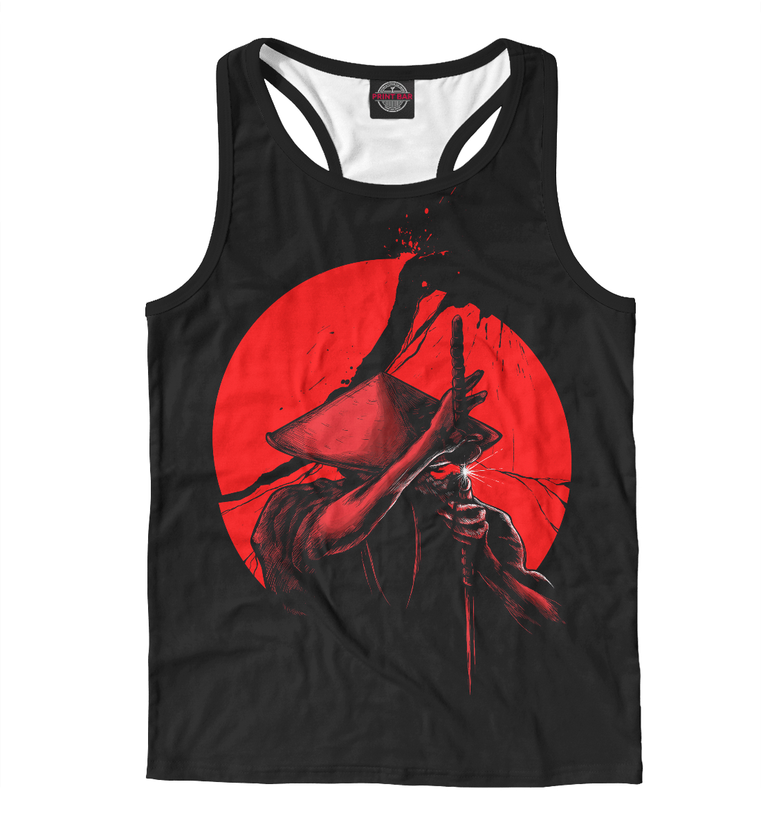 Купить Сила самурая, Printbar, Майки борцовки, EDI-453249-mayb-2