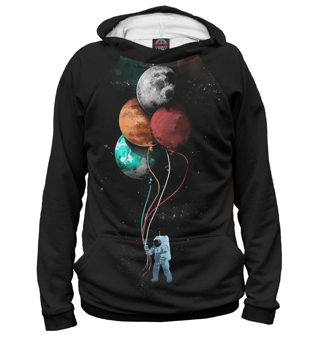 Купить Гуляющий Астронавт, Printbar, Худи, APD-714710-hud-2