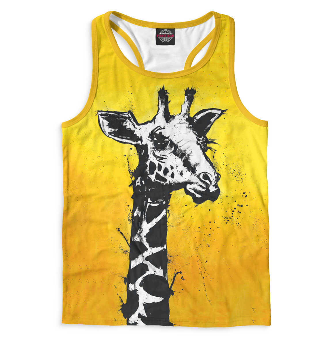 Купить Жираф, арт, Printbar, Майки борцовки, GIR-797138-mayb-2