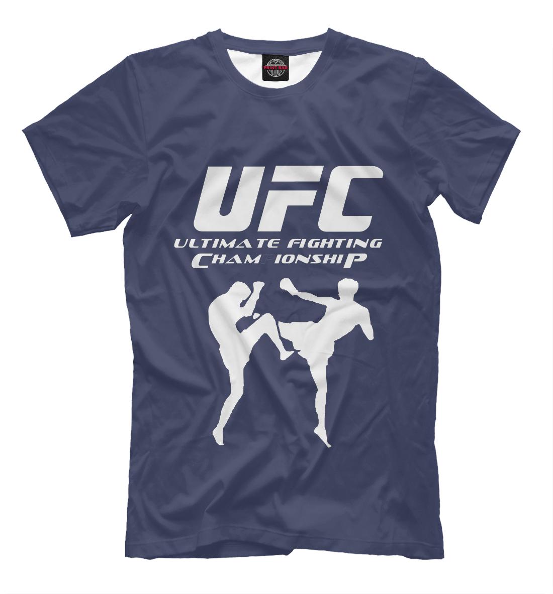 UFC, Printbar, Футболки, MNU-399454-fut-2  - купить со скидкой