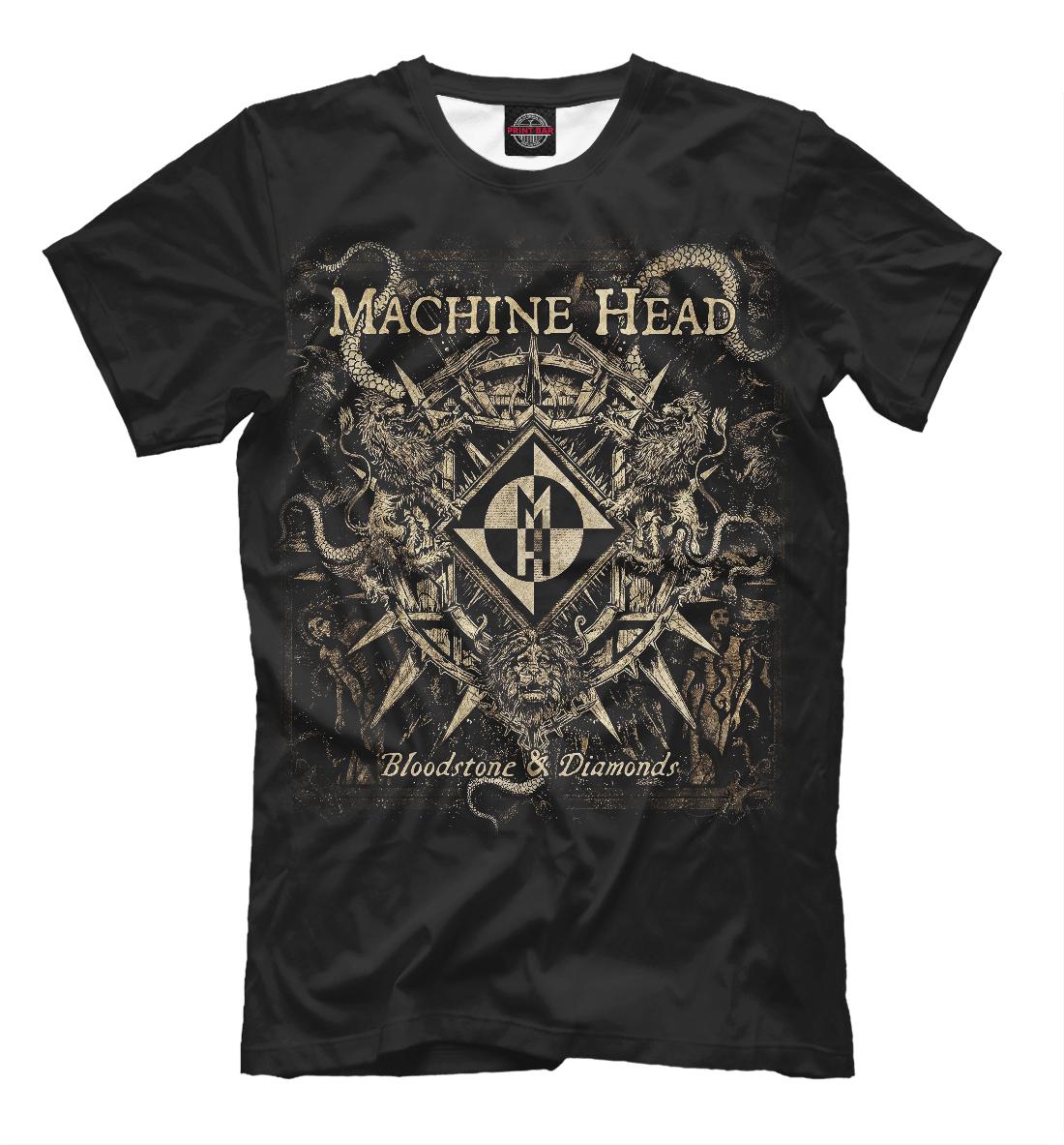 Купить Machine Head, Printbar, Футболки, MZK-477891-fut-2