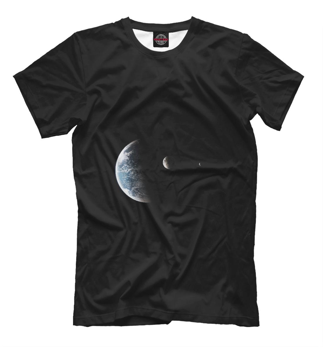 Купить Space in my heart, Printbar, Футболки, APD-450969-fut-2