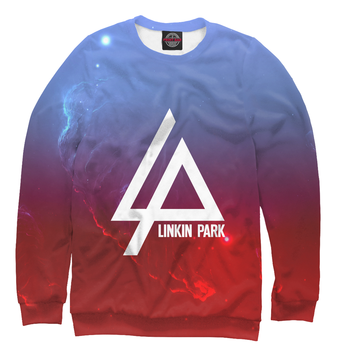 Купить Linkin Park space collection, Printbar, Свитшоты, LIN-407535-swi-2
