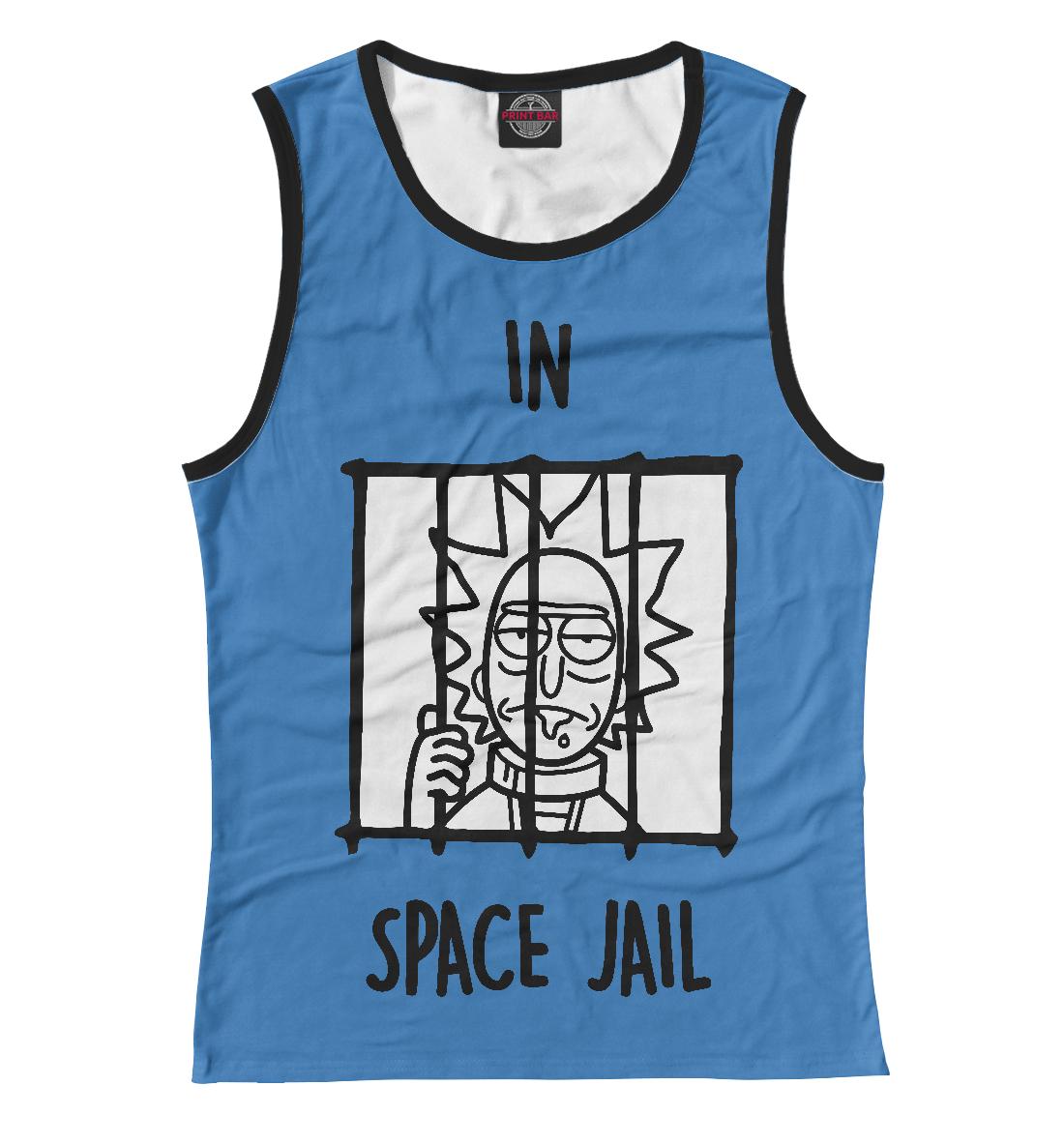 Купить Космическая тюрьма, Printbar, Майки, RNM-120702-may-1