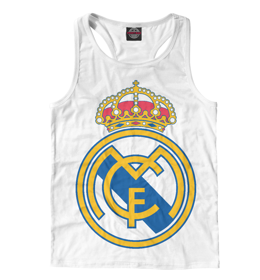 Реал Мадрид, Printbar, Майки борцовки, REA-630152-mayb-2  - купить со скидкой