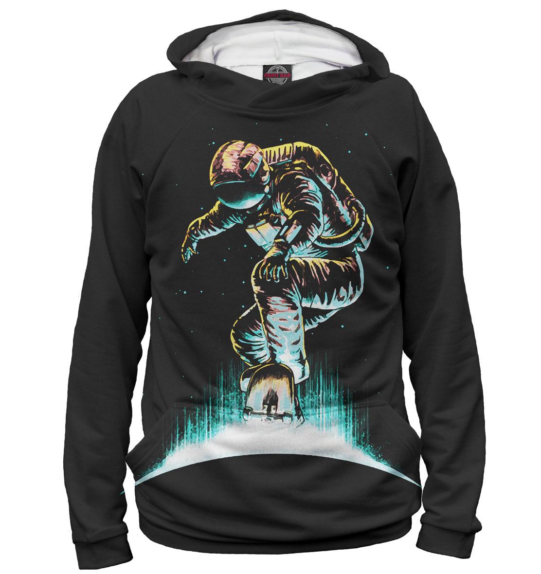 Купить Космонавт-скейтер, Printbar, Худи, SKT-768133-hud-2