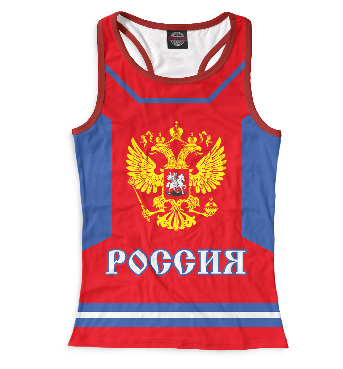 Купить Евгений Малкин, Printbar, Майки борцовки, HOK-605478-mayb-1