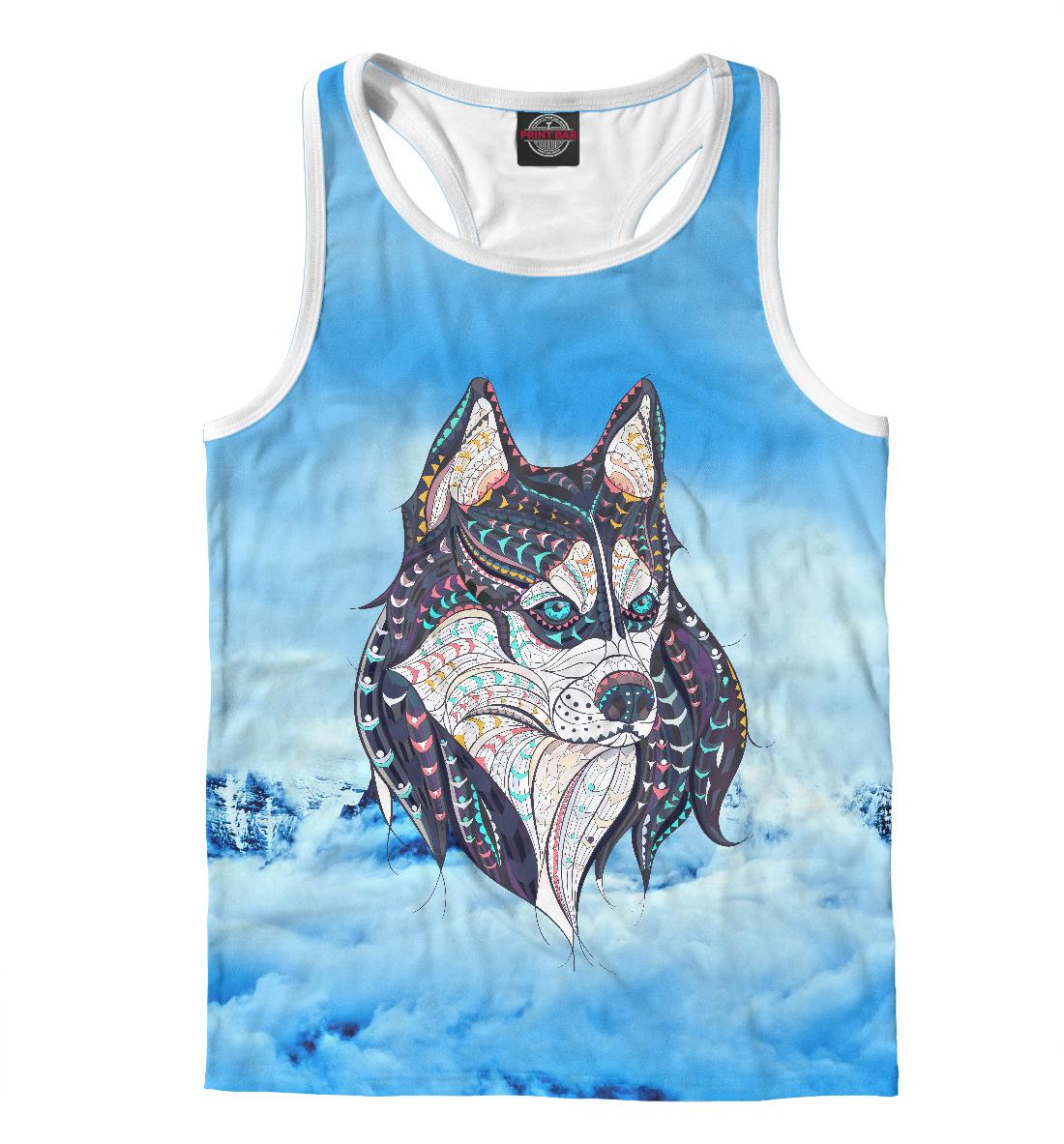 Купить Siberian Husky, Printbar, Майки борцовки, DOG-759984-mayb-2