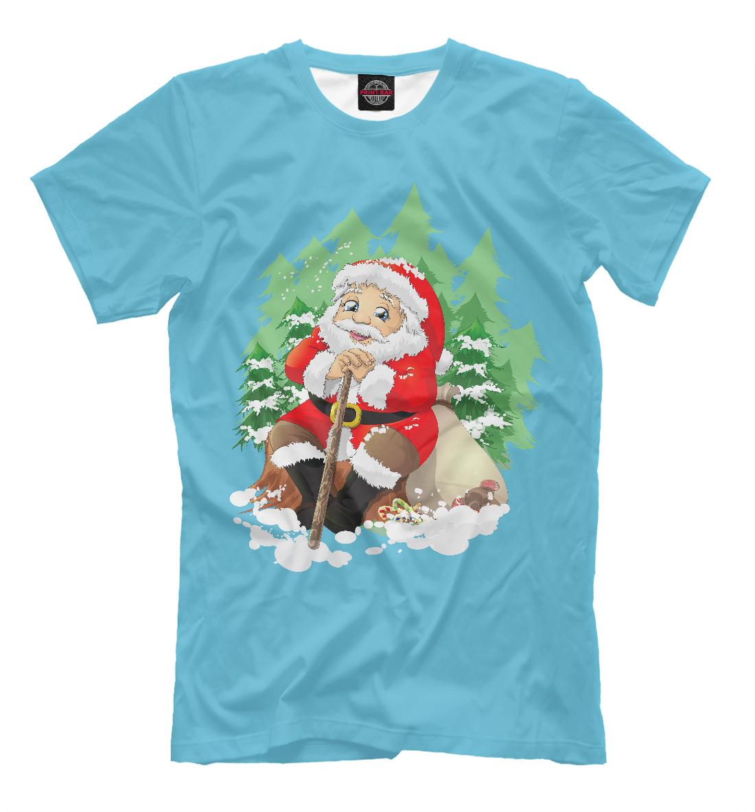 Купить Дед Мороз, Printbar, Футболки, DMZ-313847-fut-2