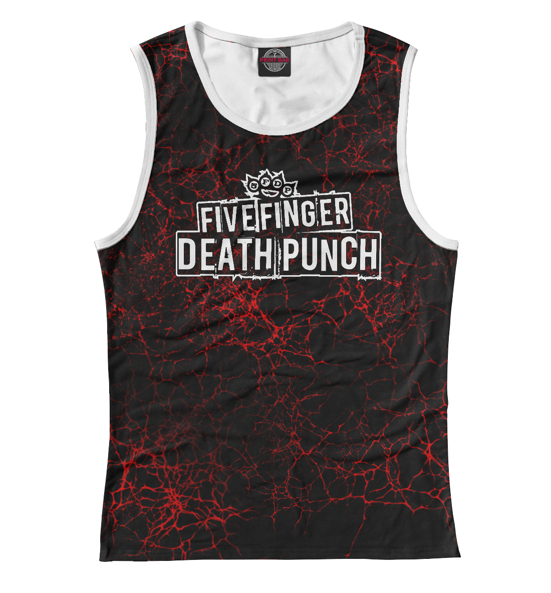 Купить Five Finger Death Punch, Printbar, Майки, FFD-387952-may-1