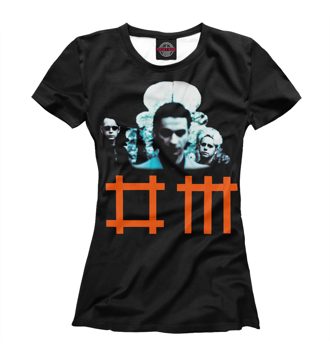 Купить Depeche Mode & Dave Gahan, Printbar, Футболки, DPM-148905-fut-1
