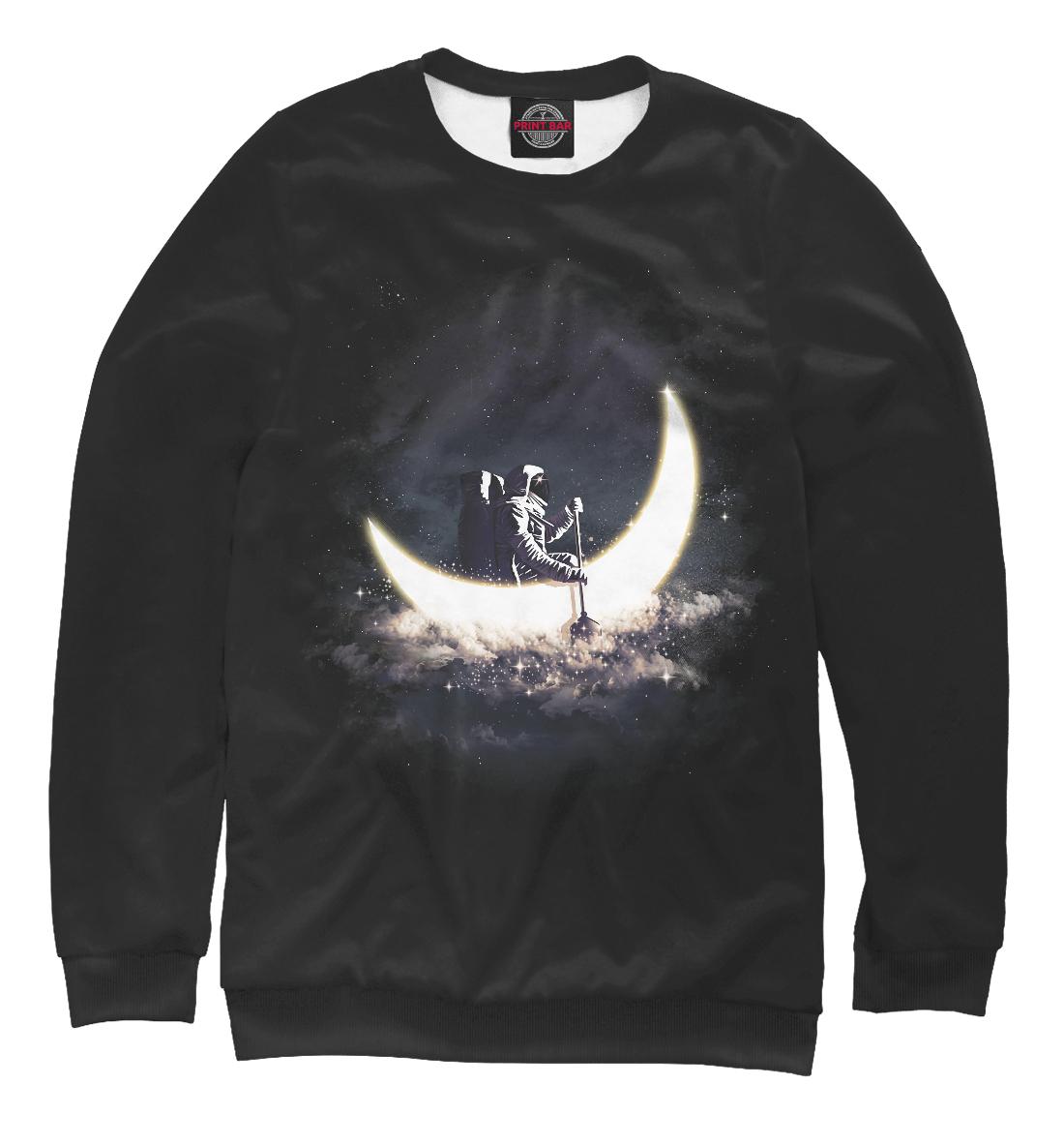 Купить Космонавт в лунной лодке, Printbar, Свитшоты, ARC-795248-swi-1