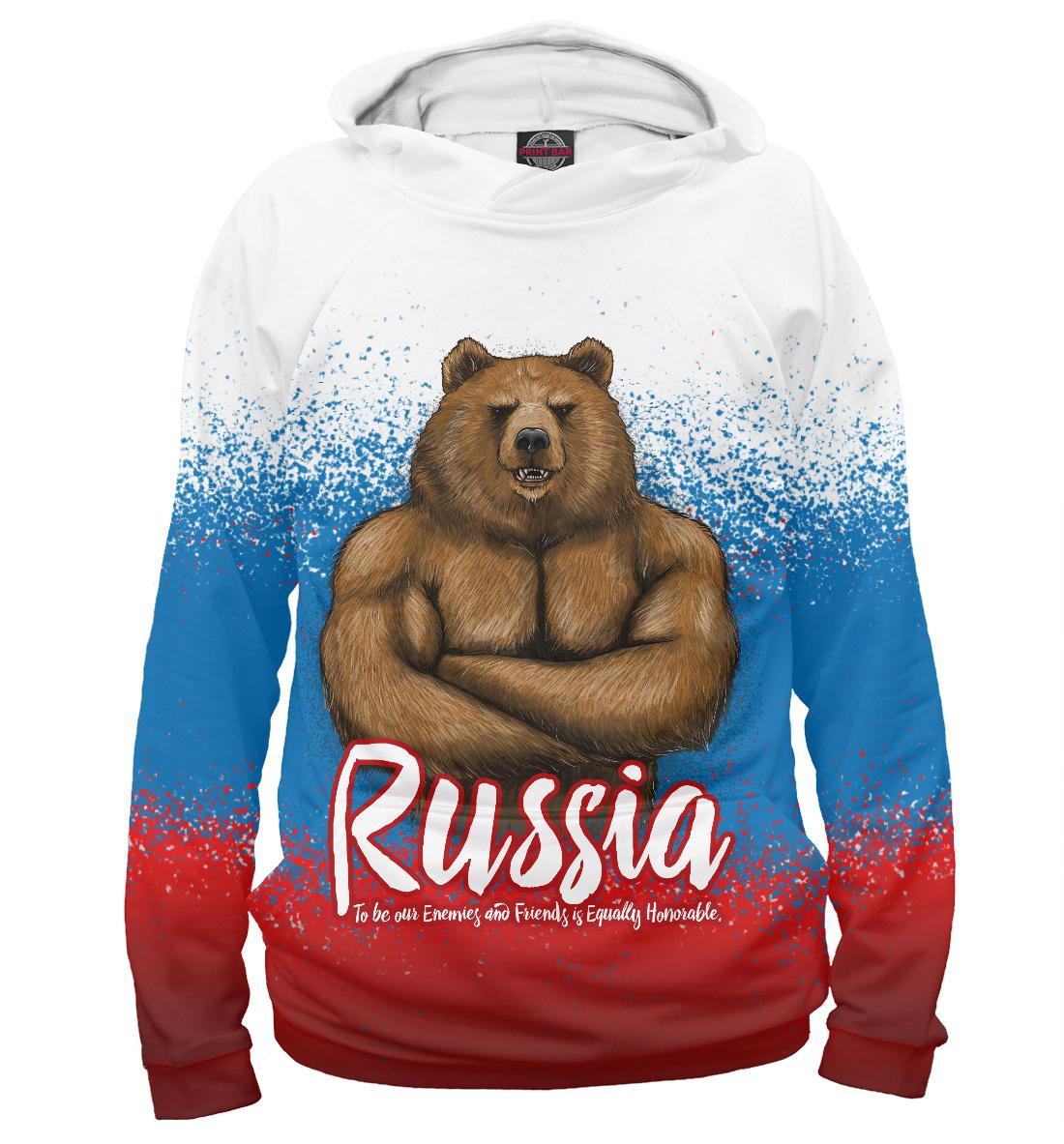 Купить Русский Мишка, Printbar, Худи, VSY-138686-hud-2