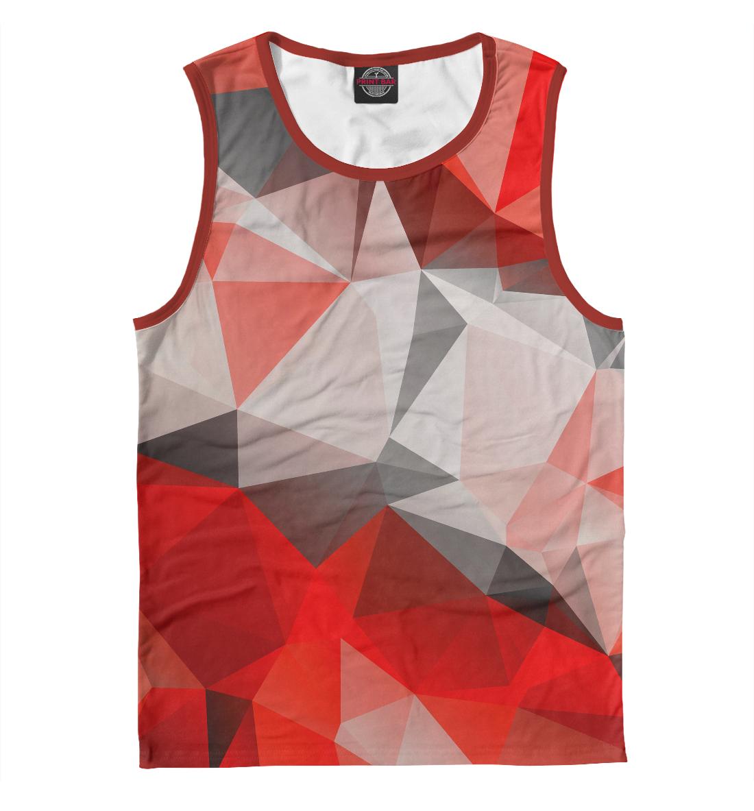 Купить Red abstract, Printbar, Майки, ABS-859200-may-2