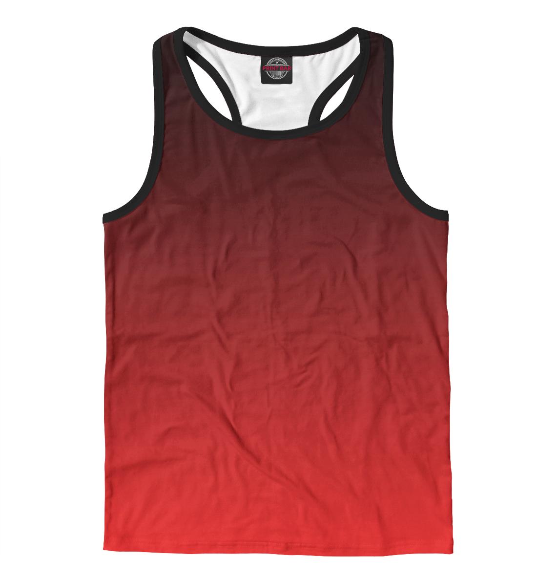 Купить Градиент Красный в Черный, Printbar, Майки борцовки, CLR-933713-mayb-2