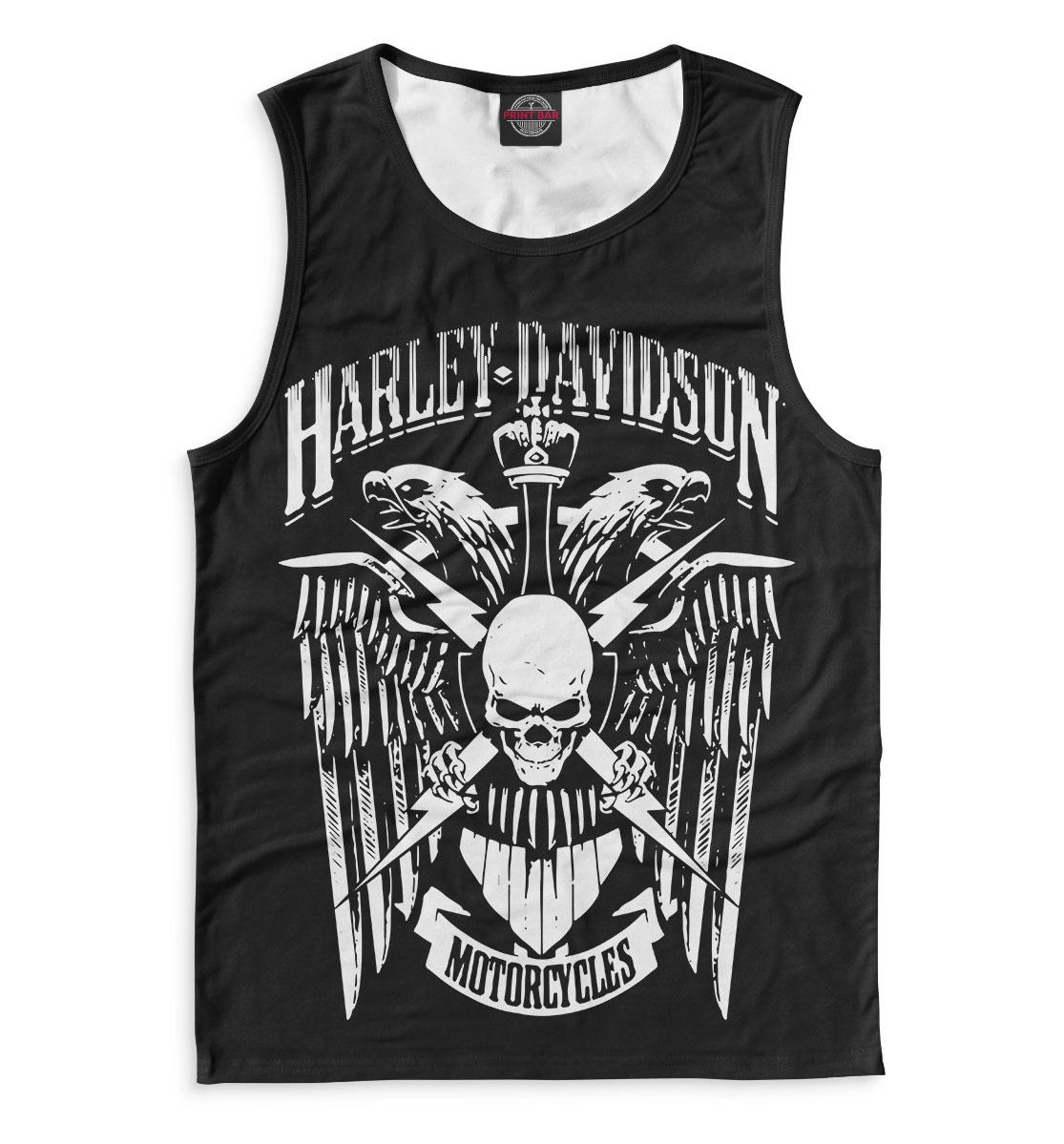 Купить Harley Davidson Motorcycles, Printbar, Майки, MTR-575884-may-2