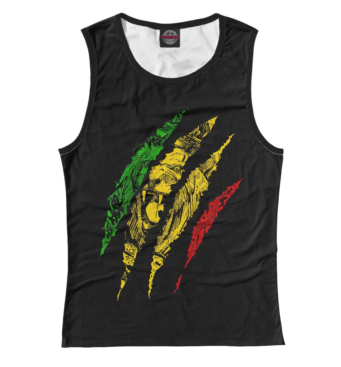 Купить Jamaica Lion, Printbar, Майки, HIS-240342-may-1