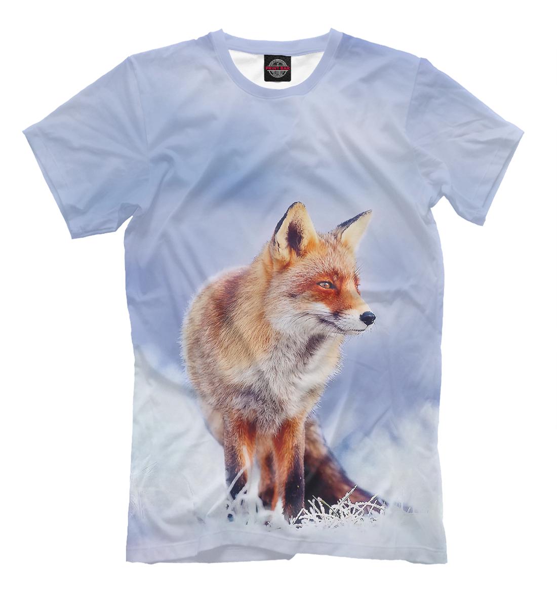 Купить Лиса, Printbar, Футболки, FOX-317466-fut-2
