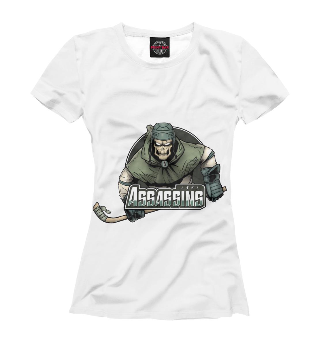Купить Assassins hockey, Printbar, Футболки, HOK-502439-fut-1