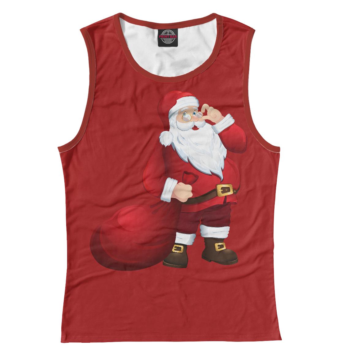 Купить Дед Мороз, Printbar, Майки, NOV-285651-may-1