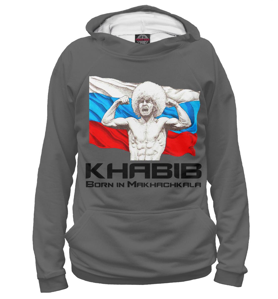 Купить Хабиб Нурмагомедов UFC, Printbar, Худи, NUR-501232-hud-2