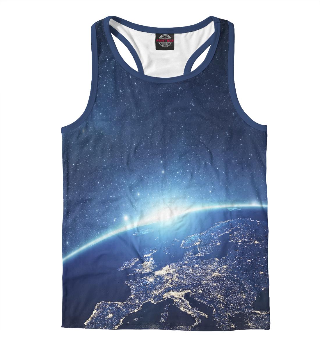 Купить Земля из Космоса, Printbar, Майки борцовки, HIP-490451-mayb-2