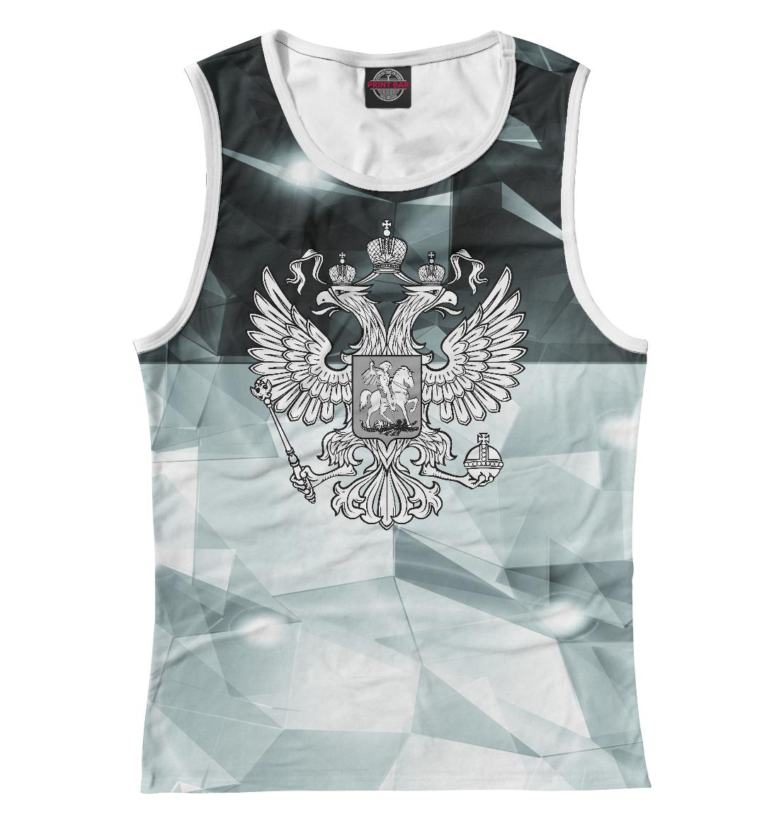 Купить Герб России Black&White, Printbar, Майки, SRF-678654-may-1