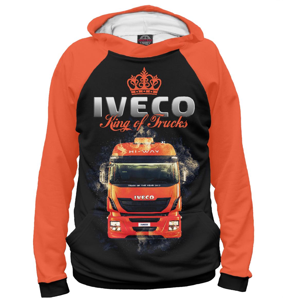 Купить IVECO - король грузовиков, Printbar, Худи, GRZ-502294-hud-2