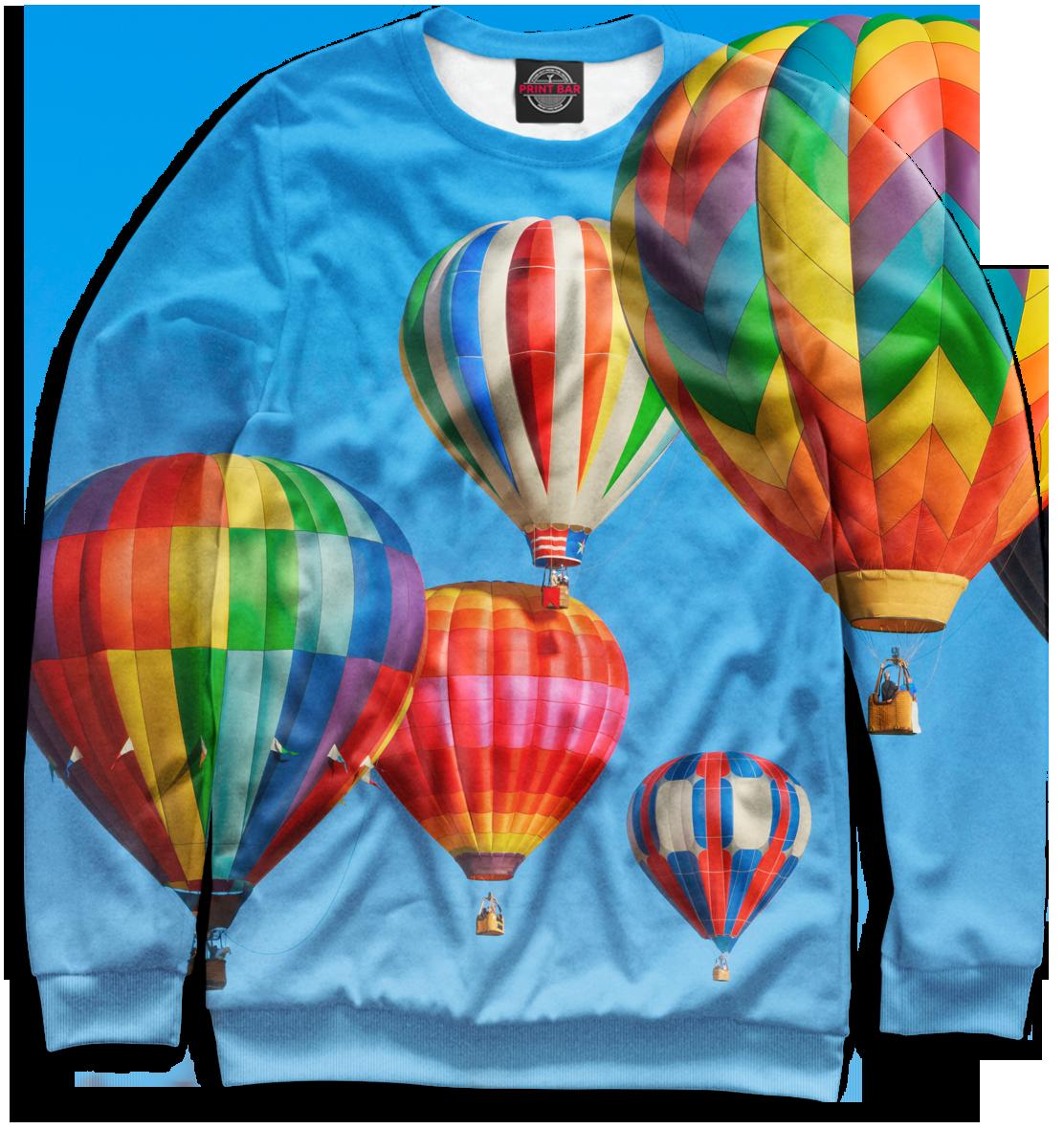 Купить Воздушные шары, Printbar, Свитшоты, TRL-135830-swi-2