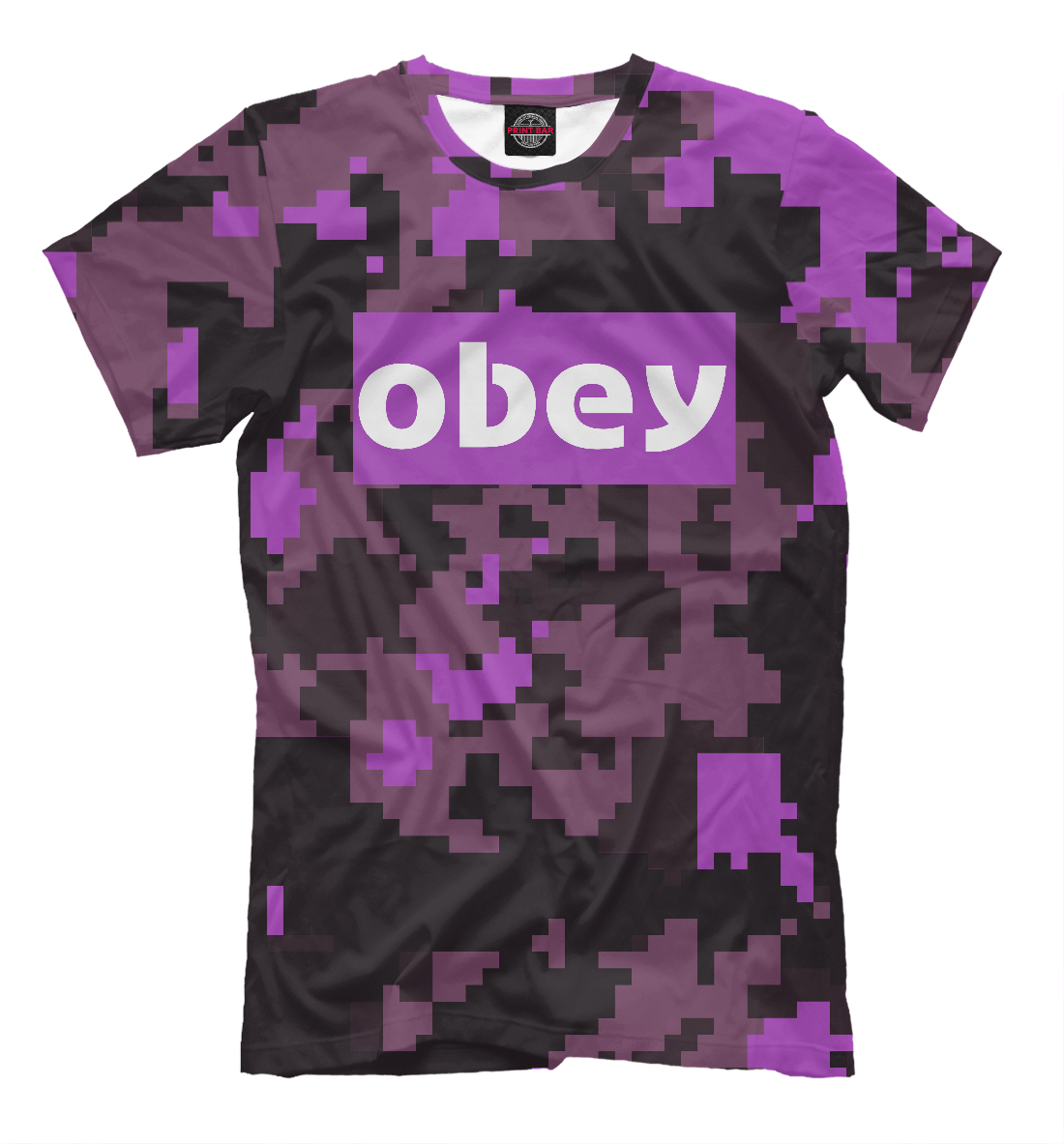 Купить Obey 2018 collection military, Printbar, Футболки, APD-917517-fut-2