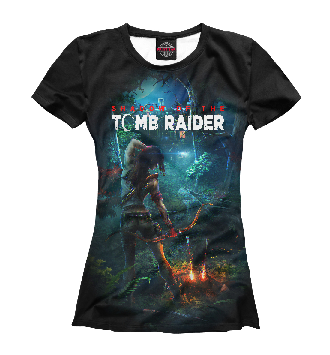 Купить Tomb Raider 2018, Printbar, Футболки, TBR-974472-fut-1