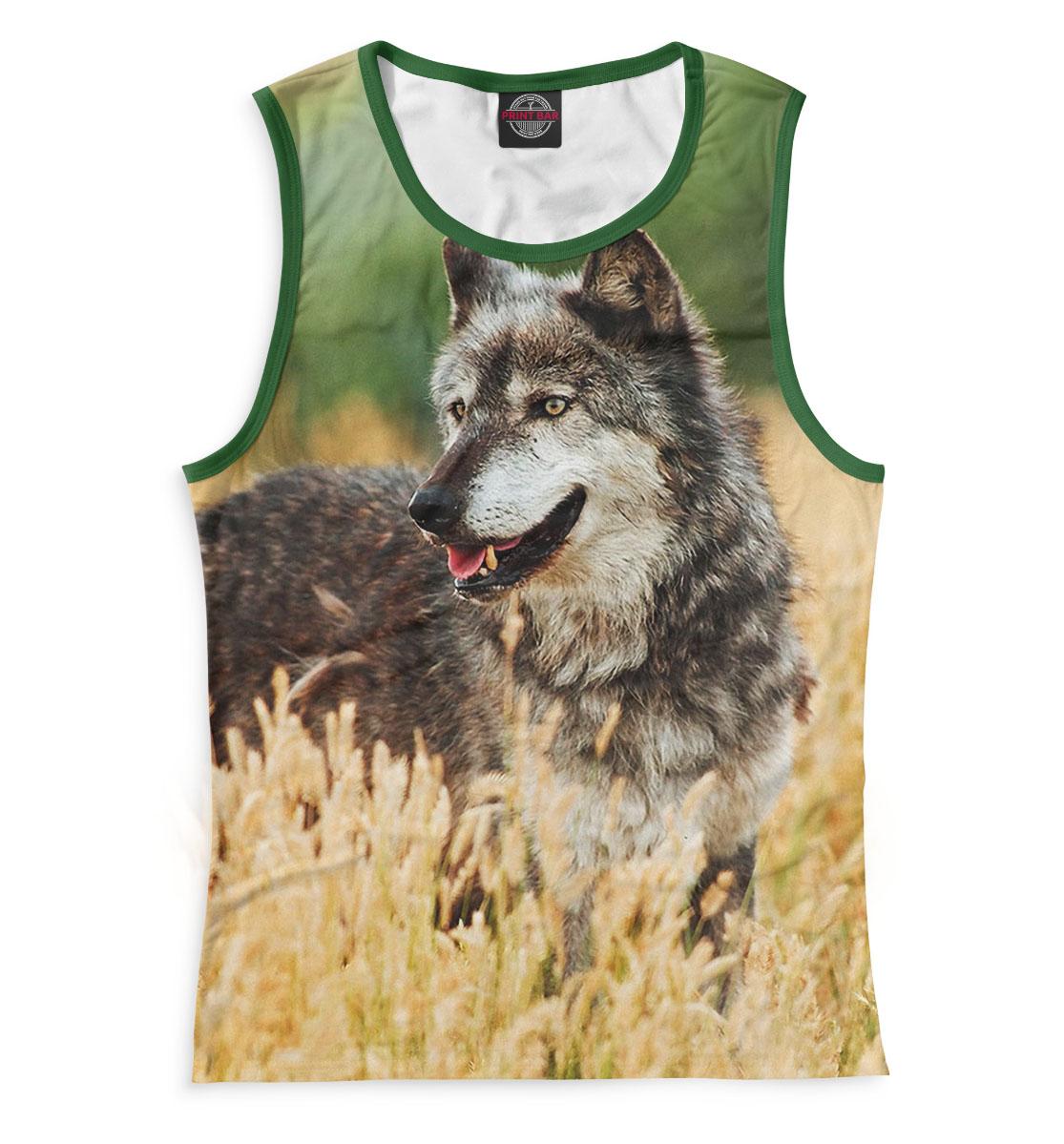 Купить Волк, Printbar, Майки, VLF-412415-may-1
