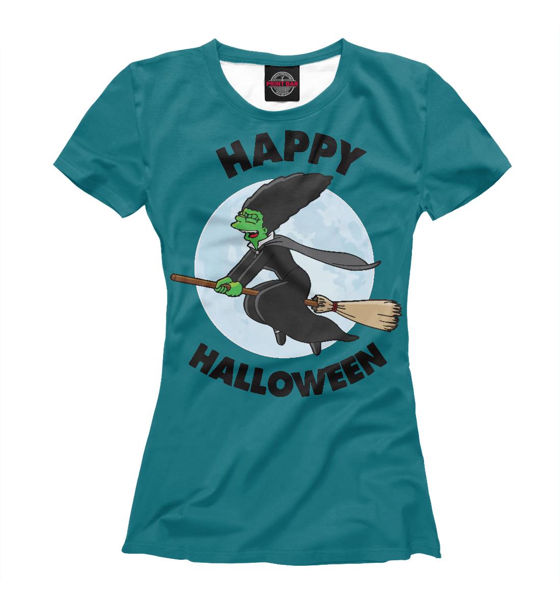 Купить Happy Halloween, Printbar, Футболки, SIM-159552-fut-1