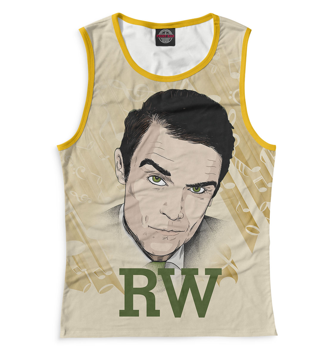 Купить Robbie Williams, Printbar, Майки, RBW-561157-may-1