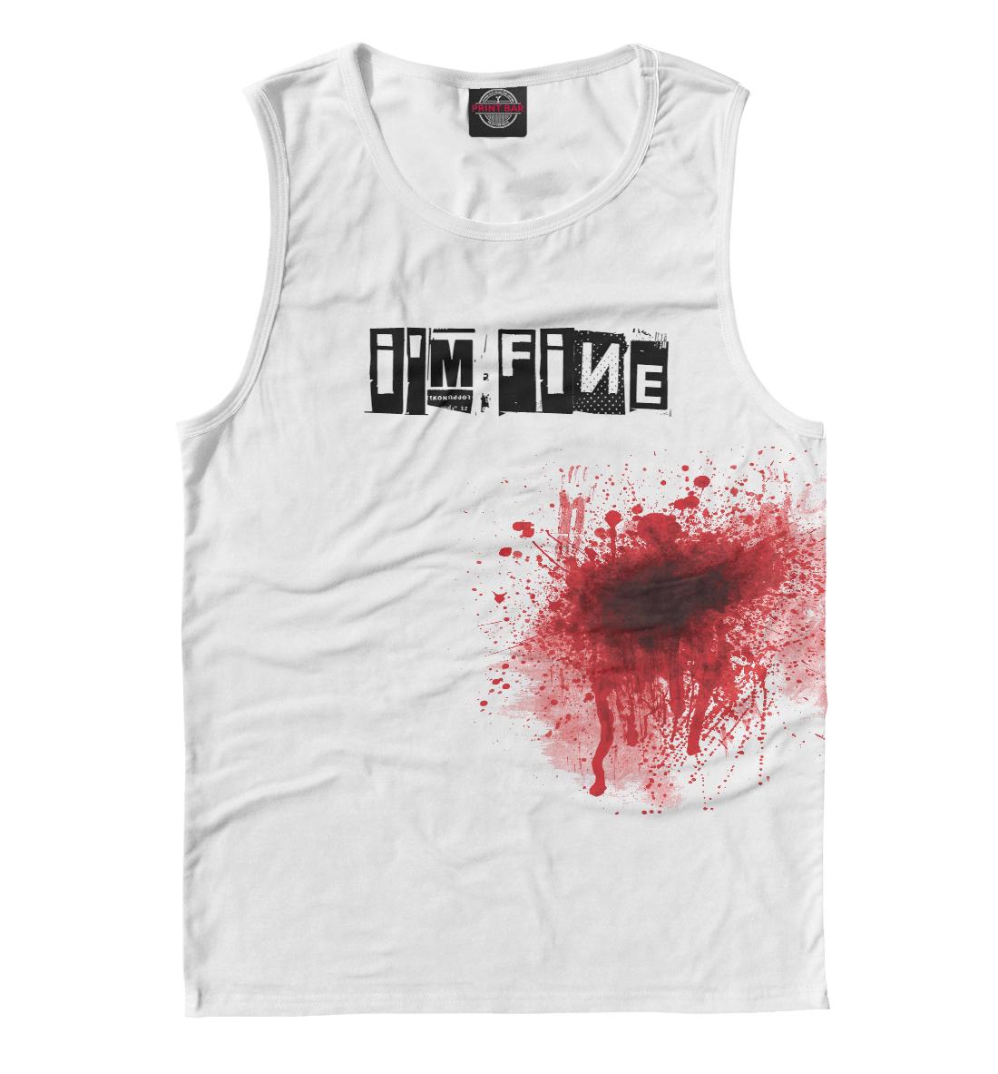 Купить Blood [i'm fine], Printbar, Майки, APD-328783-may-2