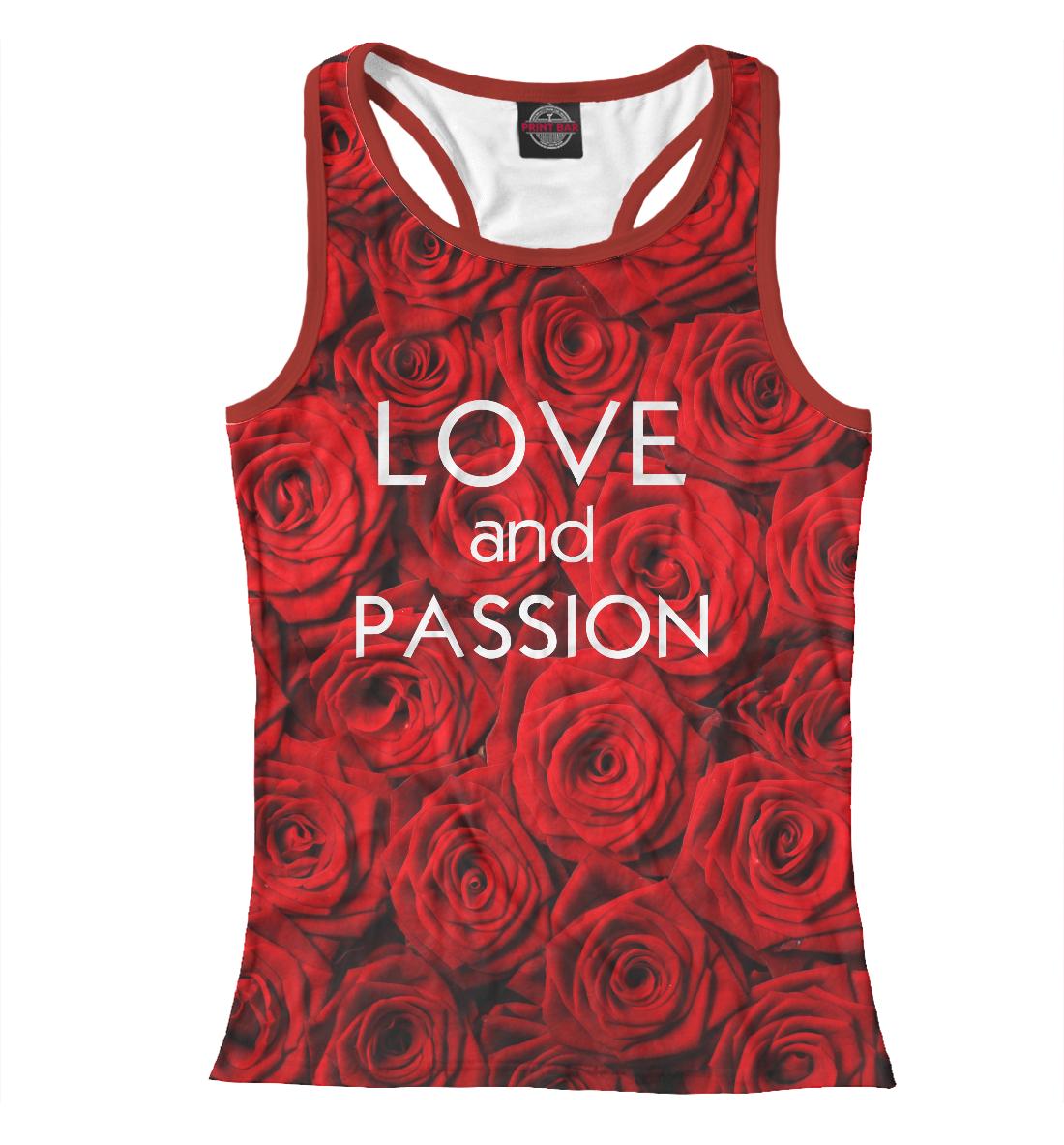 Купить Love & Passion, Printbar, Майки борцовки, CVE-520213-mayb-1