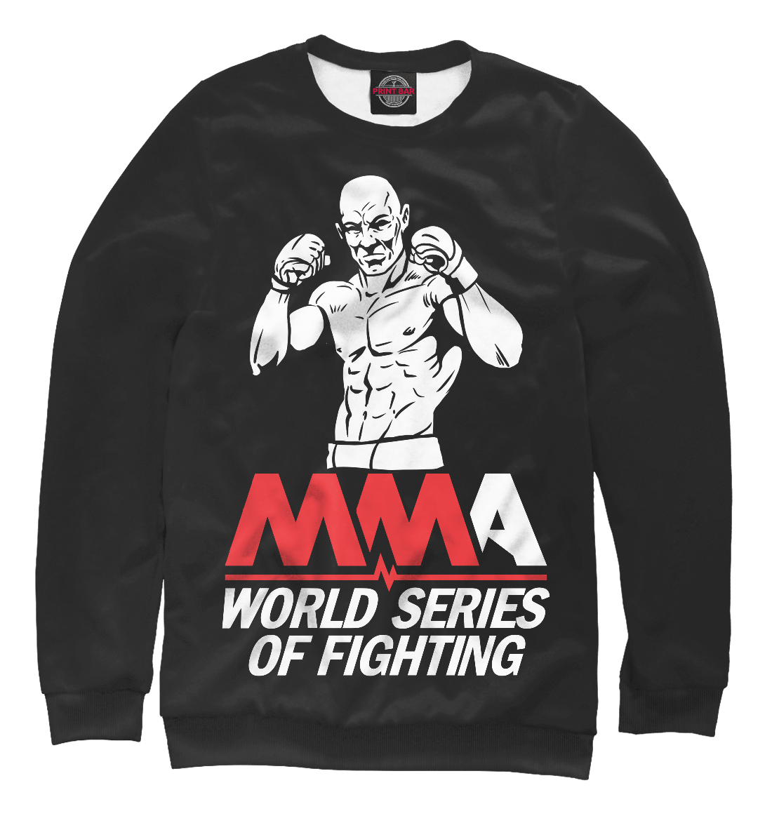 Купить MMA World Series Of Fighting, Printbar, Свитшоты, MNU-916244-swi-2