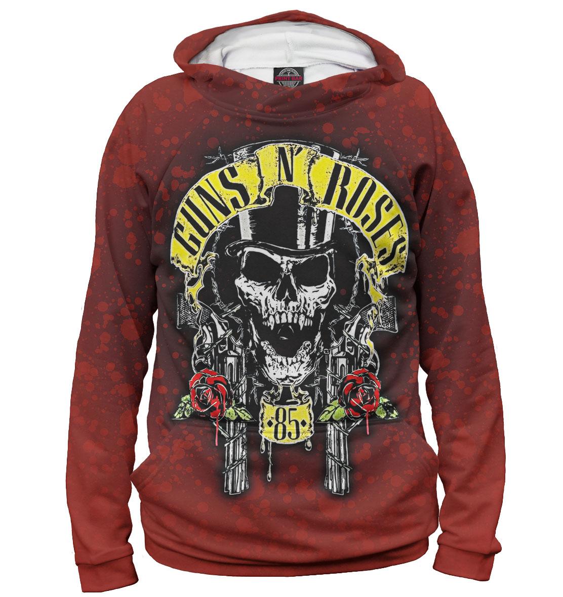Купить Guns N' Roses, Printbar, Худи, GNR-681394-hud-2