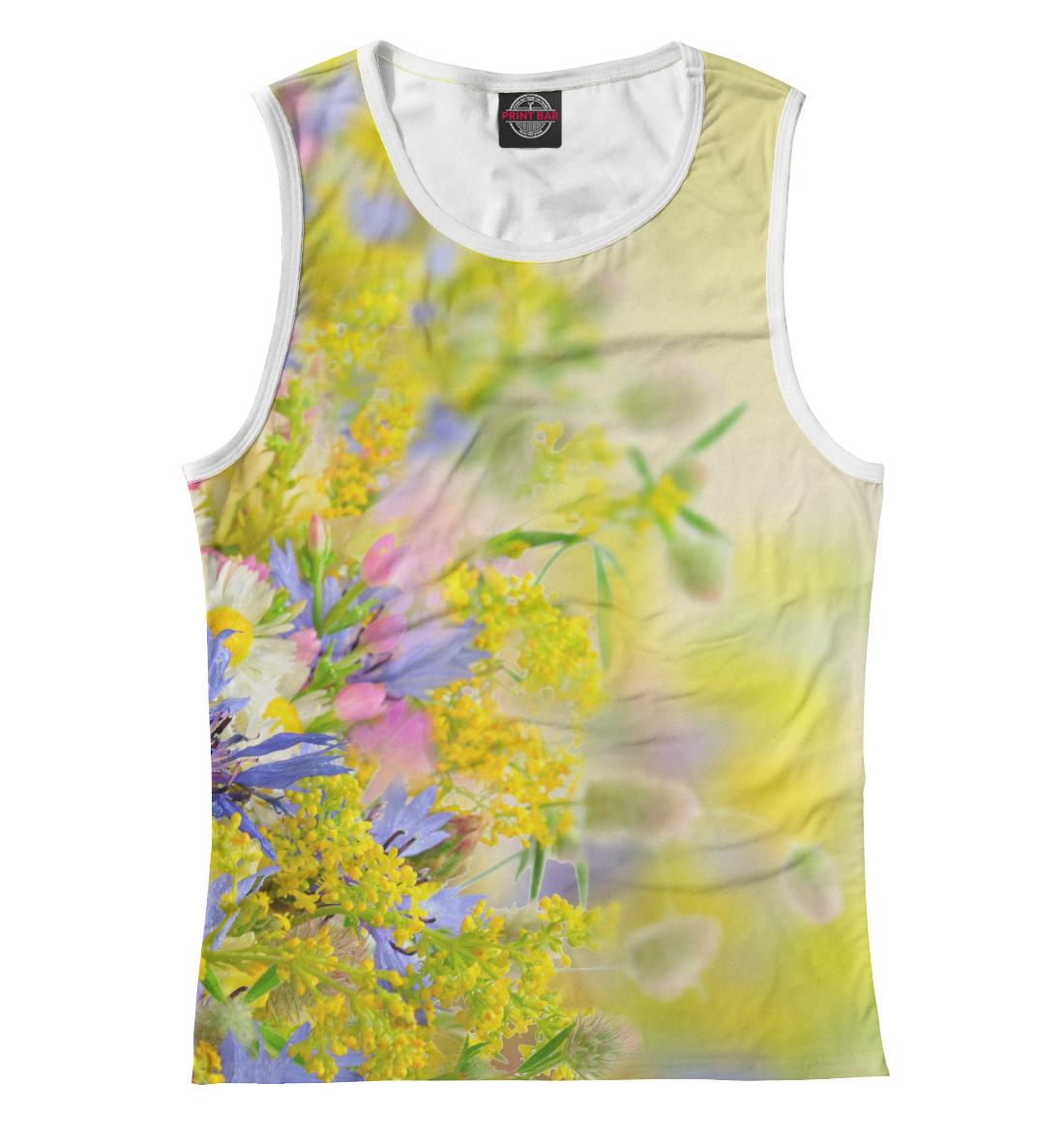 Цветочки, Printbar, Майки, CVE-406827-may-1  - купить со скидкой