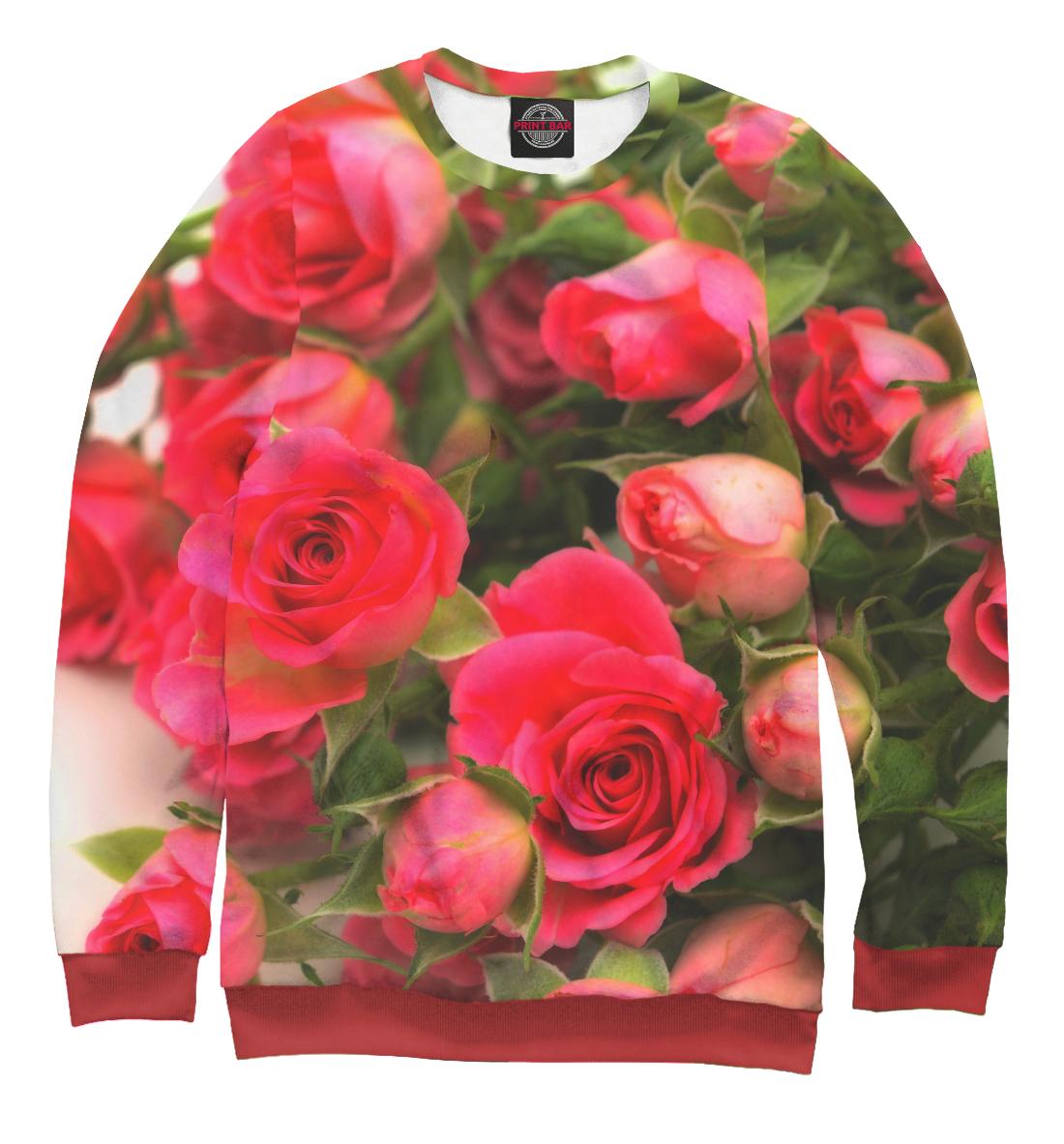 Купить Розы, Printbar, Свитшоты, CVE-107058-swi-1