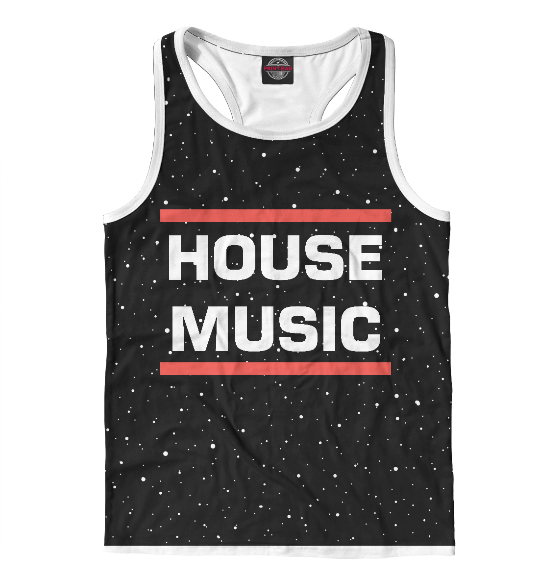 Купить House music, Printbar, Майки борцовки, DJS-557067-mayb-2