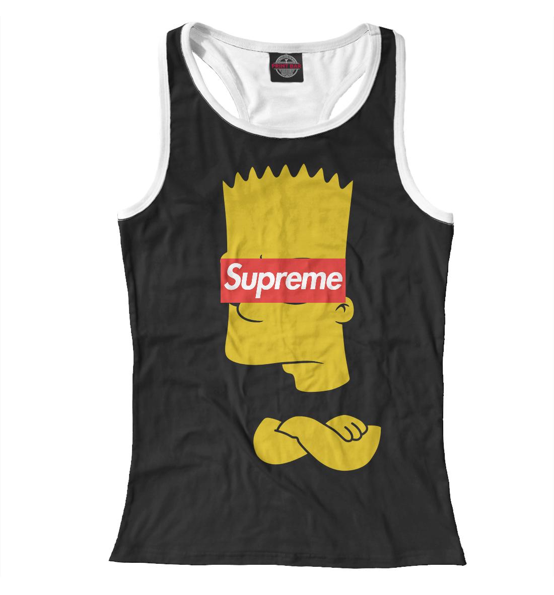 Купить Supreme Simpsons, Printbar, Майки борцовки, SPR-402256-mayb-1
