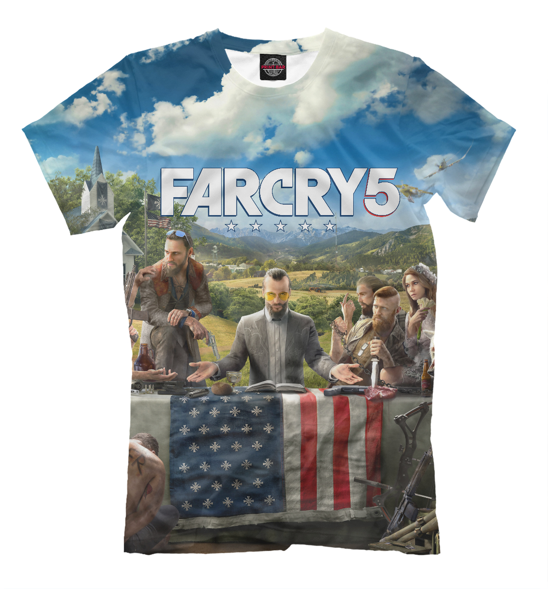 Купить Far Cry 5, Printbar, Футболки, FRC-231399-fut-2