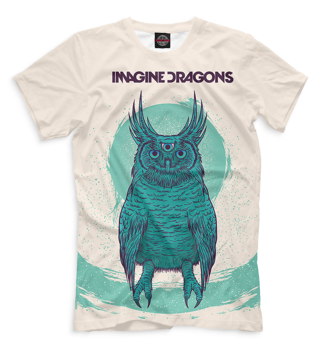 Купить Imagine Dragons, Printbar, Футболки, IMA-399407-fut-2