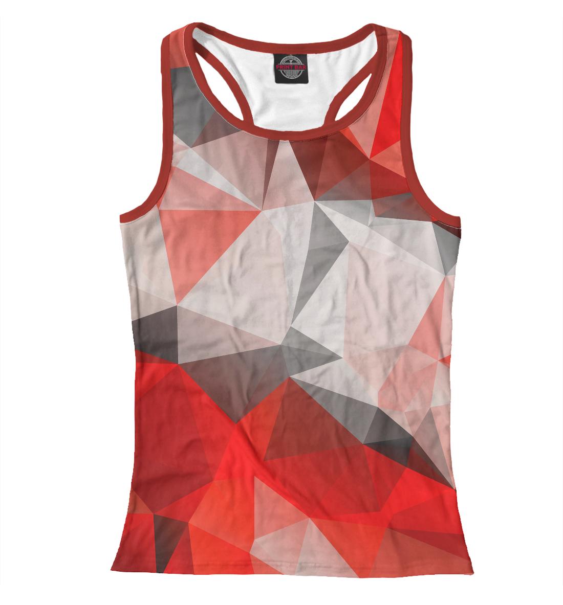 Купить Red abstract, Printbar, Майки борцовки, ABS-859200-mayb-1